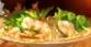 魚介類のサラダマルベリーソース