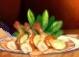 手長エビのチップスサラダ